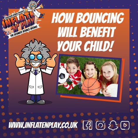 The Benefits of Bouncing at Inflate 'N' Play Blackpool!