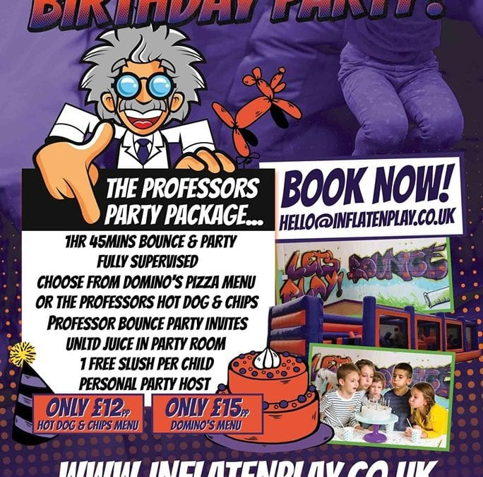 Have The Ultimate Party At Inflate 'N' Play!